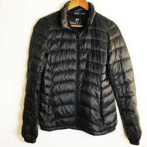 Uniqlo Black Ultra Light Down Jacket, Size XS